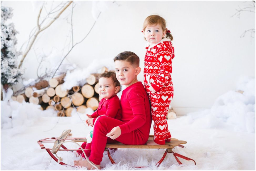 Christmas Pajamas Photoshoot.Christmas Photoshoot The Mccarthy Days